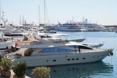 Monaco  Hafen und Jachten
