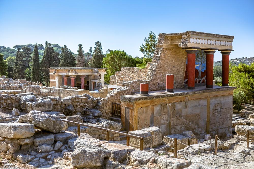 Knossos Palast Kreta Griechenland