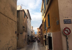 Saint-Tropez-Innenstadt Shopping
