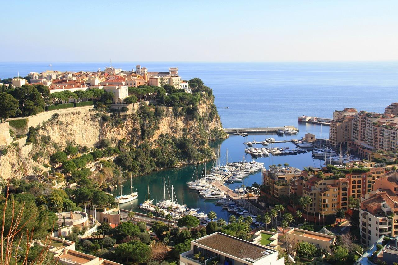 Monaco-Grimaldi Felsen
