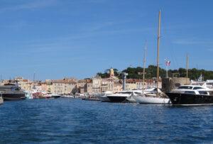 Jacht-Hafen von Saint Tropez Cote ´d´Azur