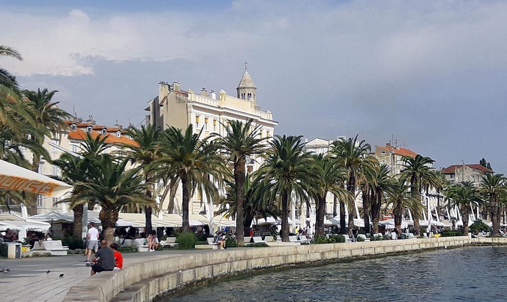 Urlaub Kroatien Riva Split
