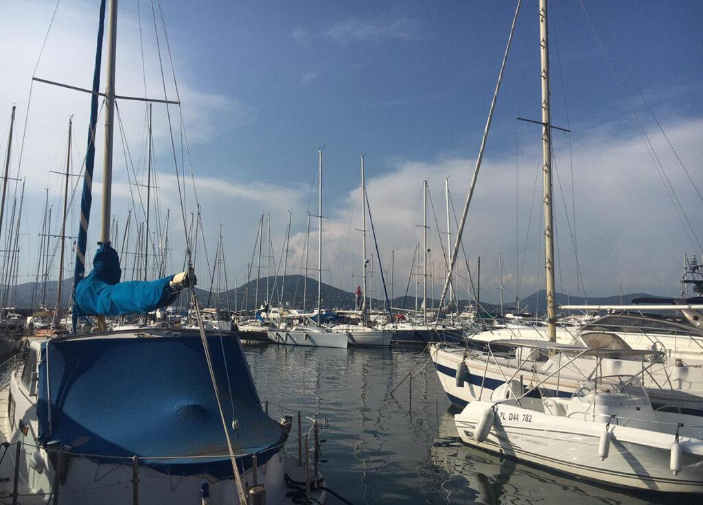 Saint-Tropez Jachthafen