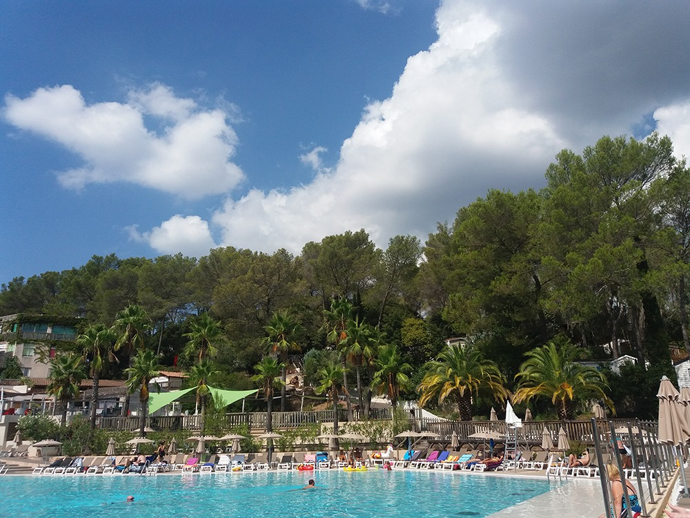 Holiday Green Resort & Spa in Frejus - Poolbereich
