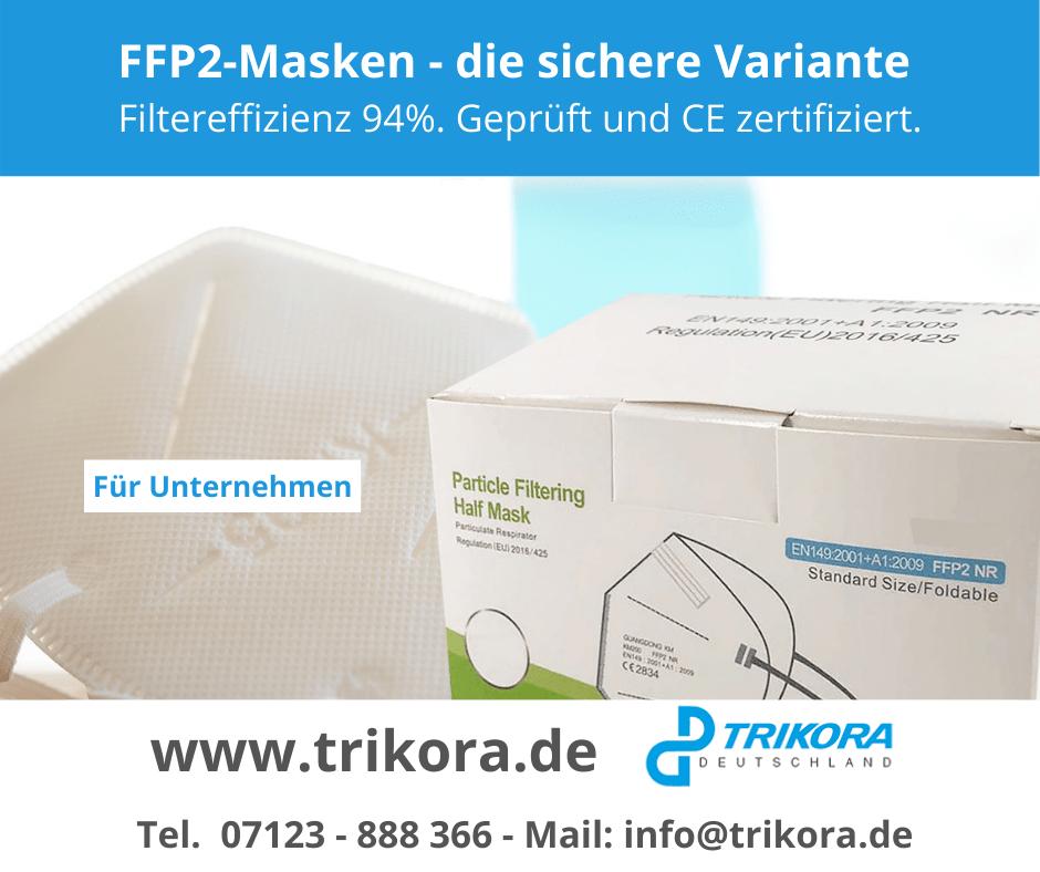 FFP2-Masken Trikora Deutschland
